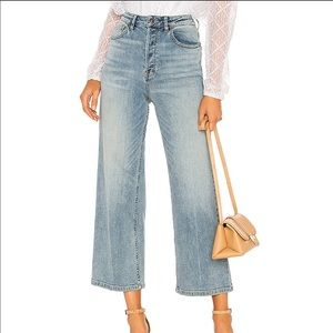 Free People Wales Wide Leg Jeans.